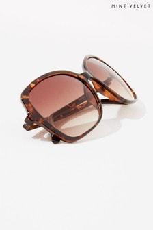 Mint Velvet Sorrento Square Sunglasses