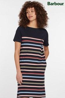 Barbour® Coastal Navy Stripe Hawkins T-Shirt Dress