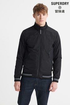 Superdry Black Light Track Jacket