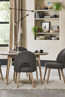 Dansk Scandi 4 Seater Dining Table by Bentley Designs