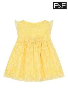 F&F Yellow Occasion Dress