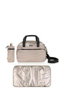 Changing Bag With Mat & Bottle Holder