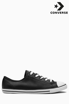 Converse Chuck Taylor All Star Dainty OX in zwart