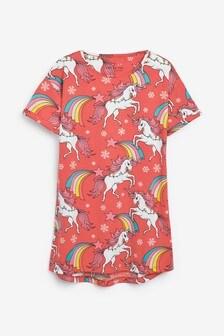 Unicorn Print Nightie (3-16yrs)
