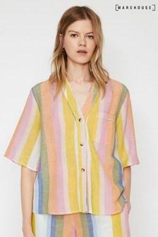 Warehouse Rainbow Pyjama Top