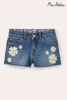 Boden Blue Denim Shorts
