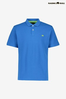 Raging Bull Blue Signature Poloshirt