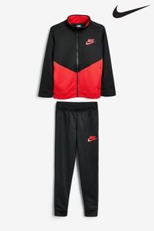Nike Red/Black Tracksuit