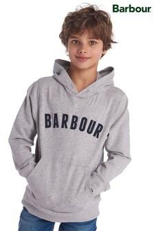 Barbour® Grey Logo Hoody
