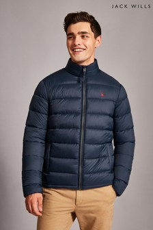 Jack Wills Navy Kershaw Lightweight Padded Jacket