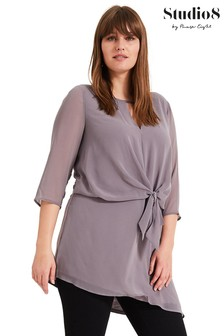 Studio 8 Grey Beatrix Longline Top