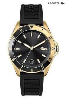 Lacoste Gold Tone Tiebreaker Watch