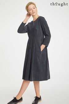 Thought Black Lisket Dress