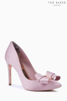 Ted Baker Pink Satin Skalett How Heeled Court