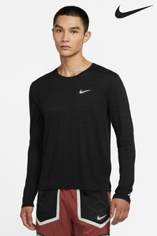 Nike Dri-FIT Long Sleeve Miler Running Top