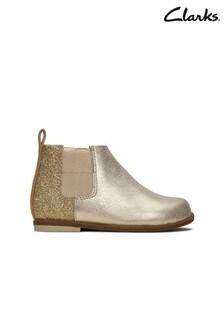 Clarks Gold Drew Fun T Boots