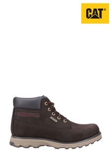 CAT® Lifestyle Brown Founder Wp Tx Lace-Up Boots