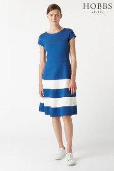 Hobbs Blue Lizzie Dress