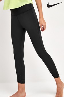 Nike Black 7/8 Yoga Training Leggings