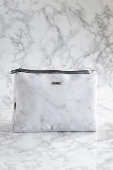 Marble Effect Folding Make Up Bag