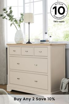 Hampton Country Luxe 5 Drawer Multi Chest