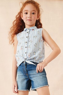 Tie Front Blouse (3-16yrs)