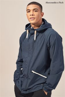 Abercrombie & Fitch Navy Windbreaker Jacket