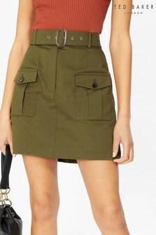 Ted Baker Wrene Utility Mini Skirt