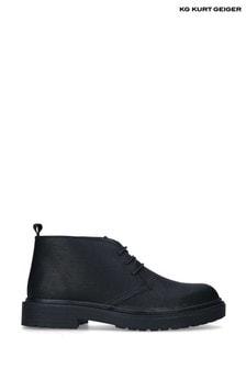 Kurt Geiger Black Payden Boots
