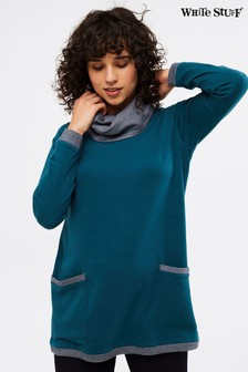 White Stuff Blue Anderson Jersey Tunic
