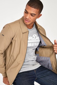 Superdry Brown Harrington Jacket