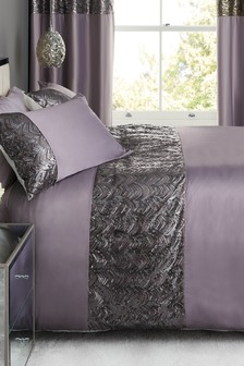 Sequin Panel Bed Set