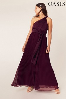 Oasis Red Wear It Your Way Maxi Dress