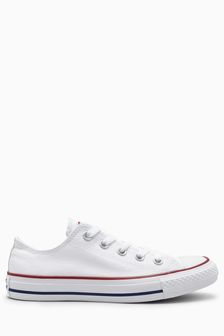 Converse Chuck Taylor All Star Ox白色帆布鞋
