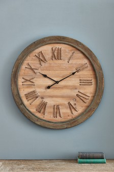 Wooden Rope Wall Clock