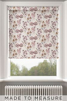 Forage Plum Pink Made To Measure Roller Blind