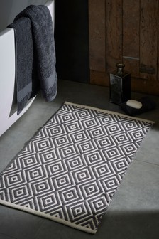 Diamond Geo Bath Mat
