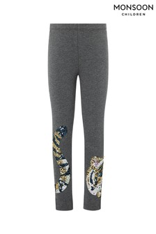 Monsoon Grey Tiger Leggings