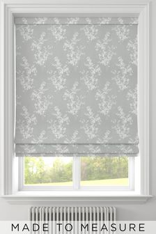 Middleton Aloe Green Made To Measure Roman Blind