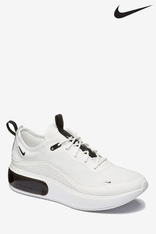 Nike White/Black Air Max Dia