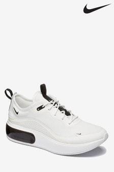 Nike White/Black Air Max Dia