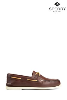 Sperry Brown Authentic Original Leather Boat Shoes