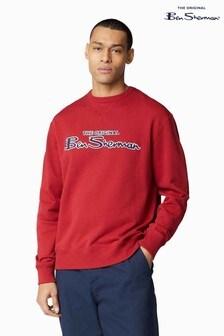 Ben Sherman® Red Signature Logo Sweat Top