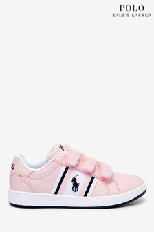 Polo Ralph Lauren Pink Oaklynn Toddler Trainers