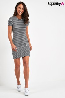Superdry Navy Texture Dress