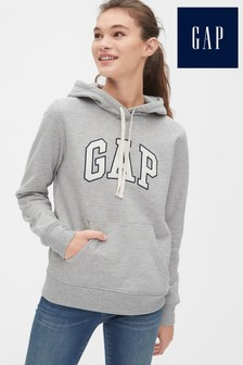 Gap Grey Logo Hoody
