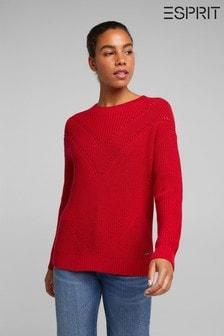Esprit Red Basic Sweater