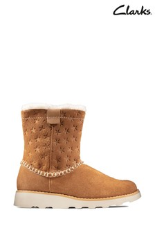 Clarks Tan Crown Piper K Boots