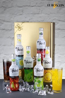 Set of 6 Le Bon Vin Mixed Cocktail Gift