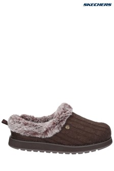 Skechers® Brown Keepsakes Ice Angel Slippers